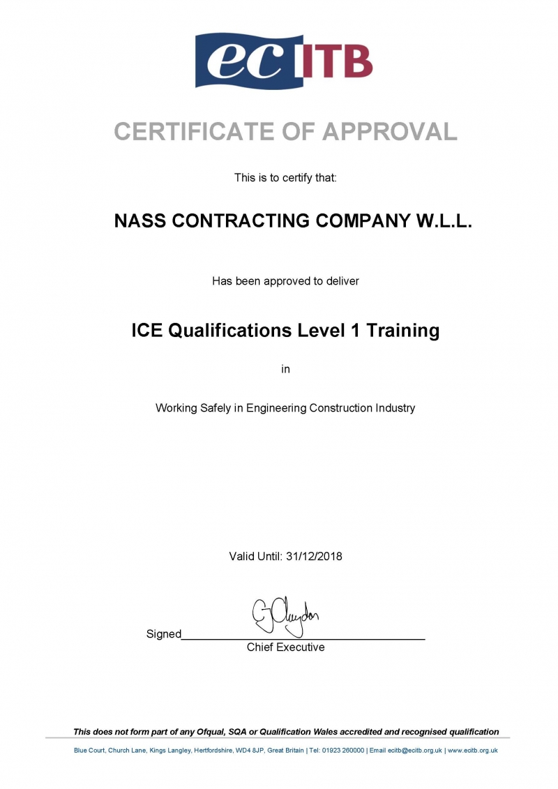 Nass Contracting offer end-to-end solutions for our